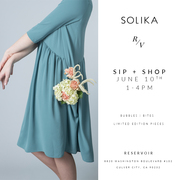 SIP. SHOP. EAT: A Shopping experience with SOLIKA
