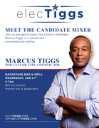 Marcus Tiggs for Culver City Council Happy Hour Mixer!