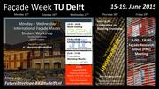 EFN Facade Week @ TU Delft