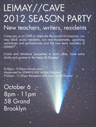 LEIMAY-CAVE Season Launch Party- Ready or Not Here We Go!