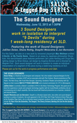 3LD // The Sound Designer // 9 Devils by Mac Wellman