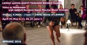 LEIMAY LUDUS: Guest Teacher Weekly Class with Peter Sciscioli