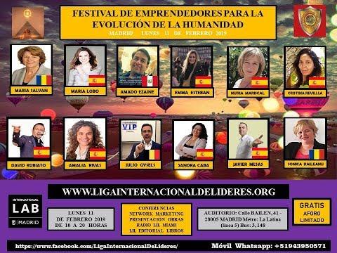 AMADO EZAINE Y SONICA RAILEANU - MADRID -  FESTIVAL LIL EMPRENDEDORES 11-02-2019