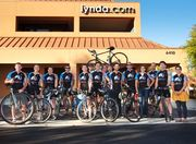 Lynda.com Bike to Work Breakfast