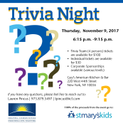 Insurance Industry Charitable Foundation 3rd Annual Trivia Night