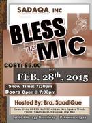 Bless The Mic TV Taping and Open Mic Showcase