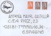 sent to  Antonia Mayaol Castello