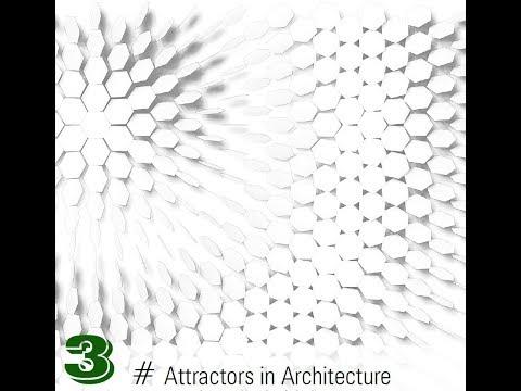 attractors in grasshopper3d 3