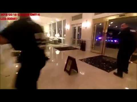 Police Bodycam Captures Gunfire At Trump Resort
