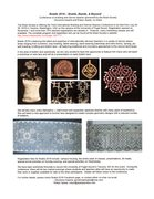 Bobbin lace courses at the Braid Society Conference