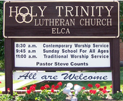 Energy Assessment at Holy Trinity Lutheran, Kingsport