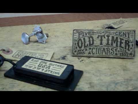 The Secret to 1930's Blues tone on Cigar Box Guitar