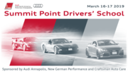 Summit Point Drivers' School sponsored by Audi Annapolis, NGP & Craftsman Auto Care