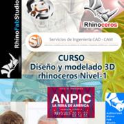 Curso Diseño y Modelado 3D Rhinoceros Nivel-1