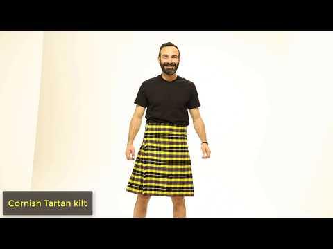 Cornish Tartan kilt - Customize Kilt for Sale