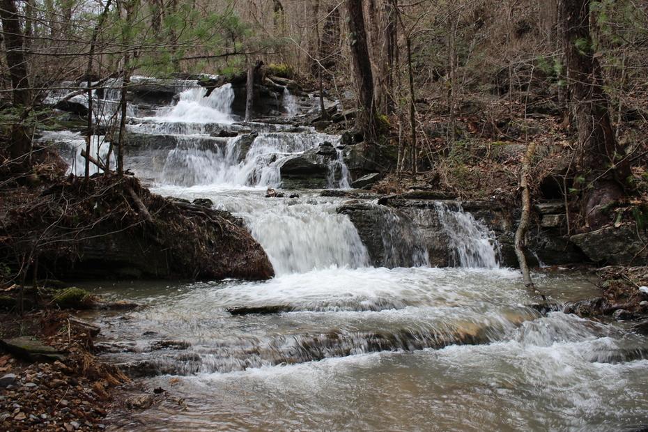 Fall Branch Falls upper portion