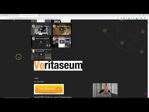 Veritaseum's VeADIR Tutorial Overview