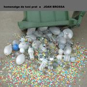 homenatge de toni prat a JOAN BROSSA