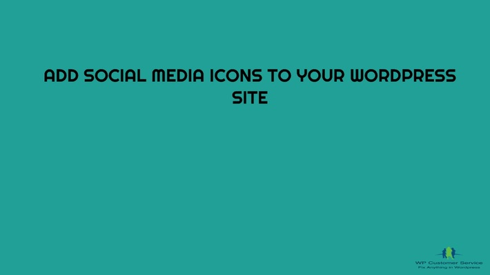 Call: 1-800-556-3577 | How to Integrate Social Media Icons to WordPress Website