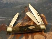 Case 032 Medium Stockman Brown Bone CV - Large Shield - 1989
