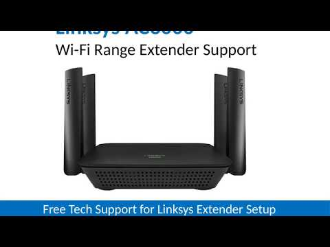 How To setup a Linksys Range Extender