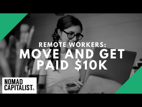 Remote Workers: Get Paid $10K to Move to...