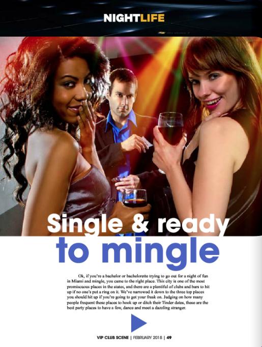 Single & Ready to Mingle