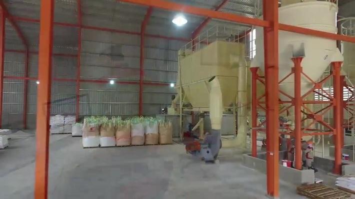 calcite powder processing plant
