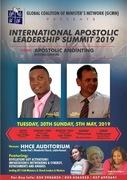 International Apostolic summit 2019