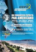 XXI Congresso Espírita Pan-Americano em Santos, litoral de São Paulo