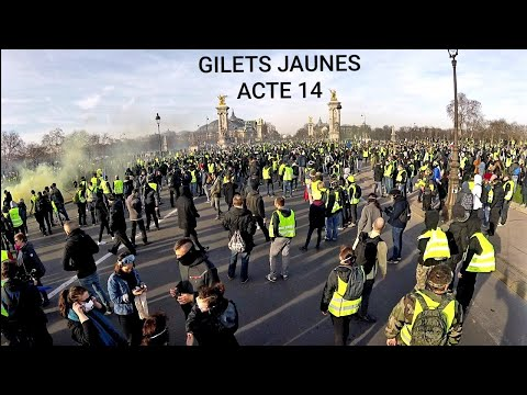 Yellow Vests Week 14: Massive Protest Against Emperor Macron In Paris