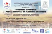 CONGRESSO ESPIRITISMO NA UERJ - Novembro de 2013