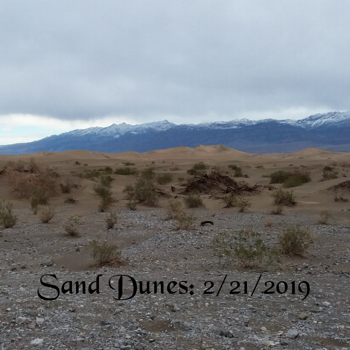 Sand Dunes near STOVEPIPE WELLS