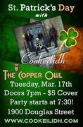 COOKEILIDH - St. Patrick's at the Copper Owl