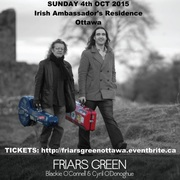 Blackie O'Connell and Cyril O'Donoghue in Concert