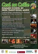Ceol na Coille Trad music Summer School 2016