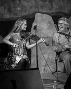 John Whelan and Haley Richardson at Grizzly Peak Winery