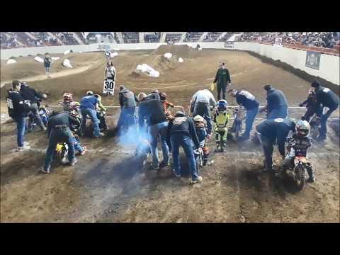 50cc Motorcross Finals At the 2019 Motorama