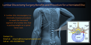 lumbar discectomy surgery benefits and procedure for herniated disc