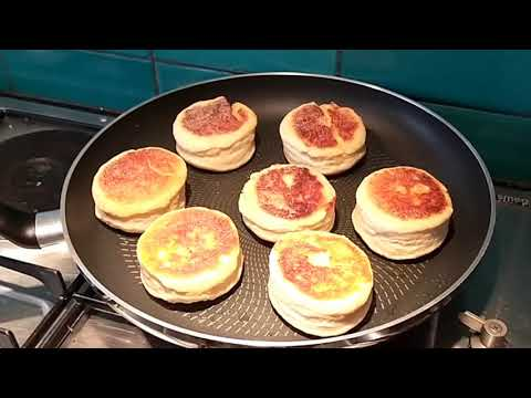 How to make tangy sourdough English muffins