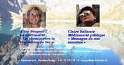 Conférence avec Aline Peugeot et Claire Reliance, médiums