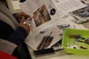 Free Art Workshop: Mind Your Language Badge-making Workshop