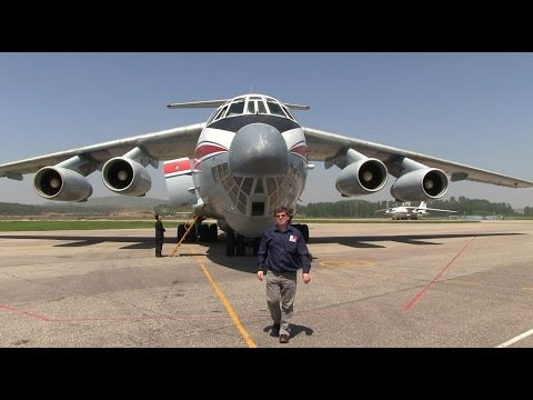 THE SIGHT & THE SOUND 7/12 : Air Koryo IL-76TD P-914 inflight documentary from / to Pyongyang
