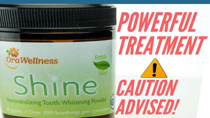 2 Powerful Effects Of The Orawellness Shine Remineralizing Tooth Powder