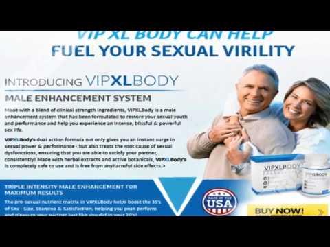 VIP XL Body Male Enhancement Pills, Official Website & Results!!