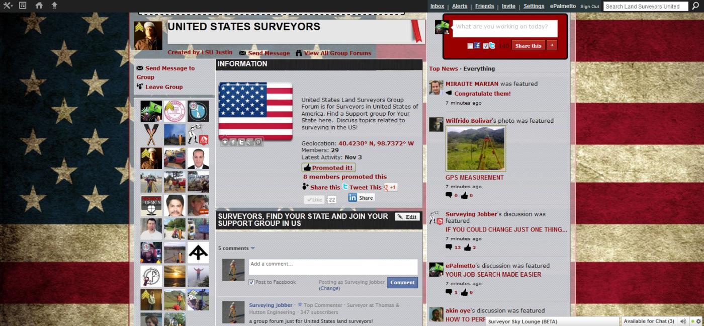 united states land surveyors group