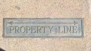 property line width