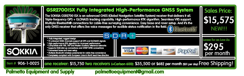 Sokkia GSR2700ISX GNSS
