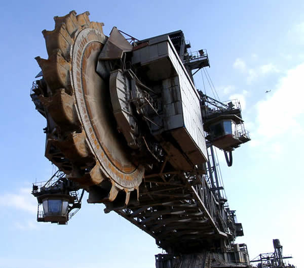 Krupp Bagger 288: World's Largest Trencher