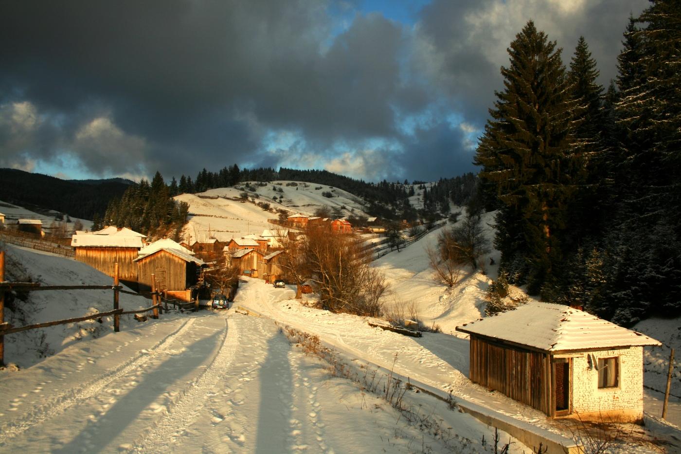my winter office in Bulgaria